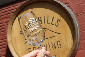 10oz Sandhills Tasting Glass
