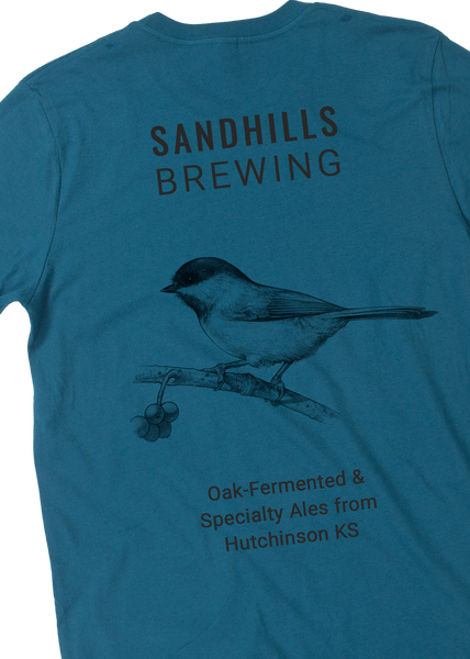 Sandhills Brewing - Blue Chickadee back