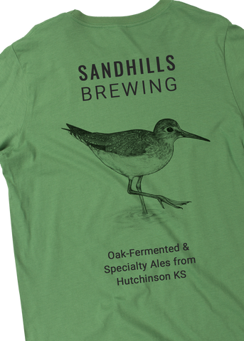 Sandhills Brewing - Green Sandpiper back