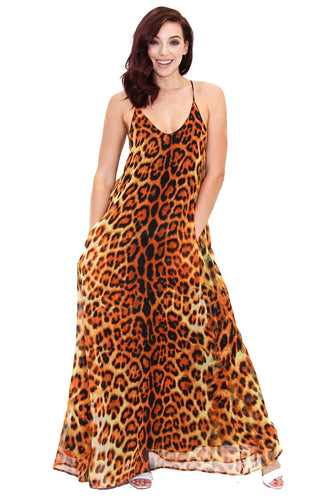 Cheetah Maxi Dress