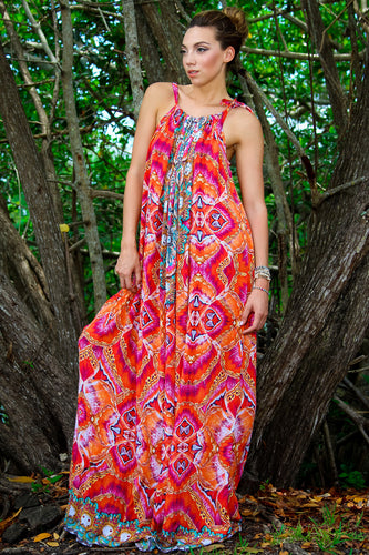 Jelly Fish Maxi Dress