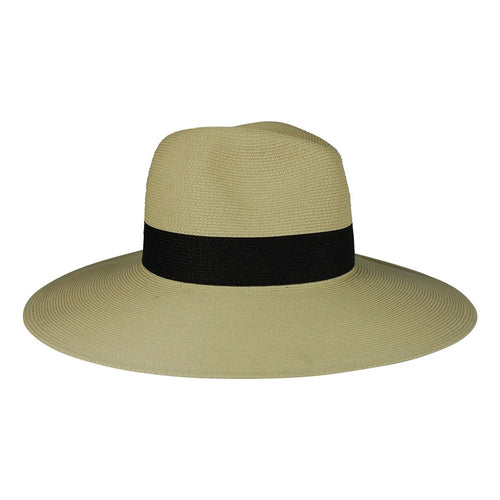 Fine Braid Inset Continental Hat