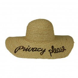 """Privacy Please"" Hat"