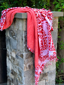 Red & White Towel