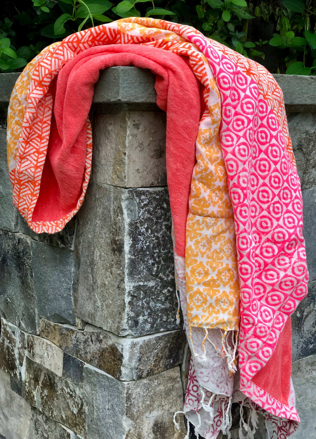 Pink & Orange Towel
