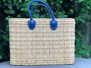 Rectangle Small Basket Blue