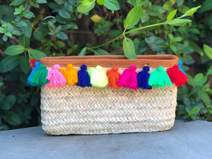 Tassel Fringed Clutch