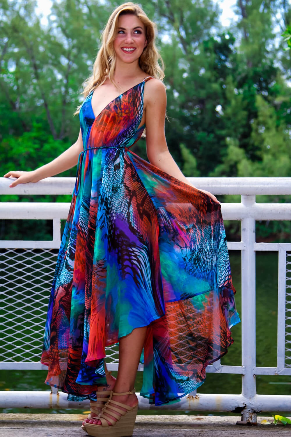 Multi Color Dress