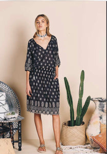 Jewel Dress Charcoal