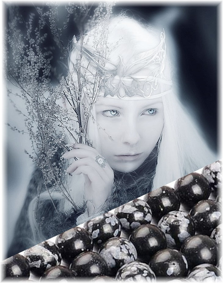 Snowflake Obsidian The Stone of Winter, But So Much More... 3 Ways to Use it's Energy