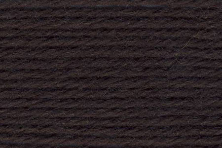 Deluxe Worsted Wool Yarn ~ Turkish Coffee Brown - 12178