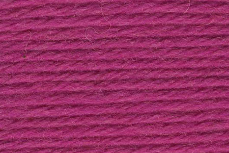 Deluxe Worsted Wool Yarn ~ Hot Fuchsia Pink - 12177