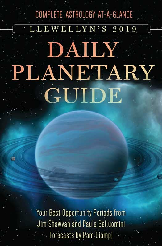 2019 Daily Planetary Guide by Llewellyn