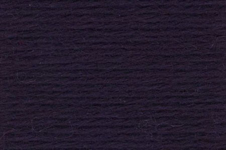 Deluxe Worsted Wool Yarn ~ Midnight Black - 12269