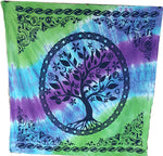 "Tree of Spiritual Tolerance Altar Cloth or Wall Hanging ~ 36"" x 36"""