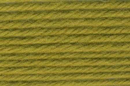 Deluxe Worsted Wool Yarn ~ Chartreuse Olive Green- 12224