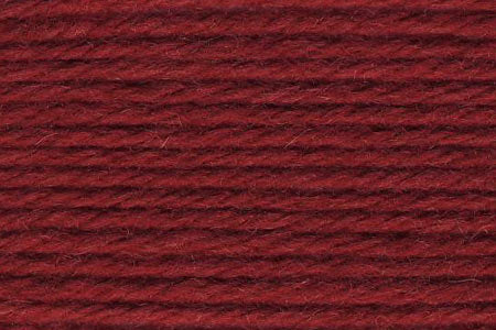 Deluxe Worsted Wool Yarn ~ Madder Red - 12170