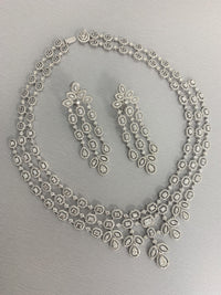 Legacy Diamond Necklace (23.45 ct Diamonds) in White Gold