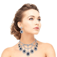 Atlantis Necklace & Earrings Suite