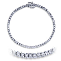 2 Prong Tennis Bracelet (3.38 ct)