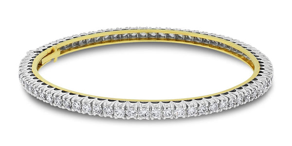 Forever Diamond Bangle (5.05 ct Diamonds) in Gold