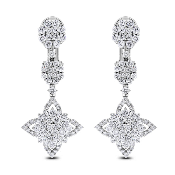 Regina Earrings (3.48 ct)
