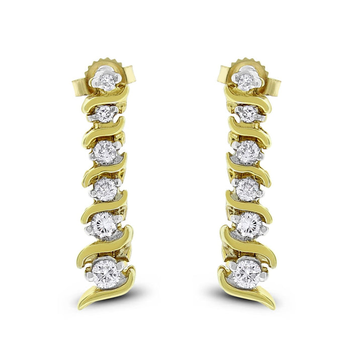 Lorena Earrings (0.48 ct)
