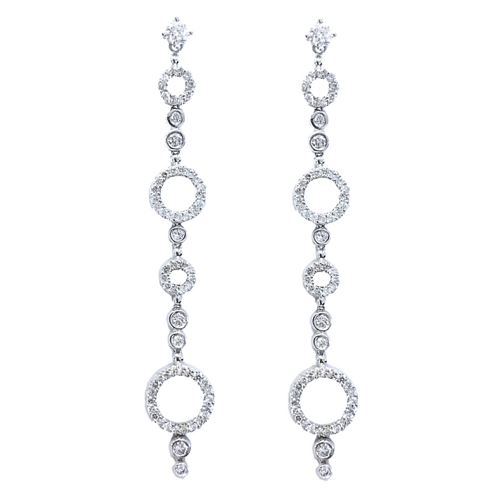 Circles Diamond Earrings (1.75 ct)