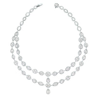 Tara Diamond Suite (31.33 ct Diamonds) in White Gold