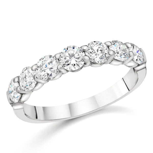 7 Diamond Band 1.12 ct