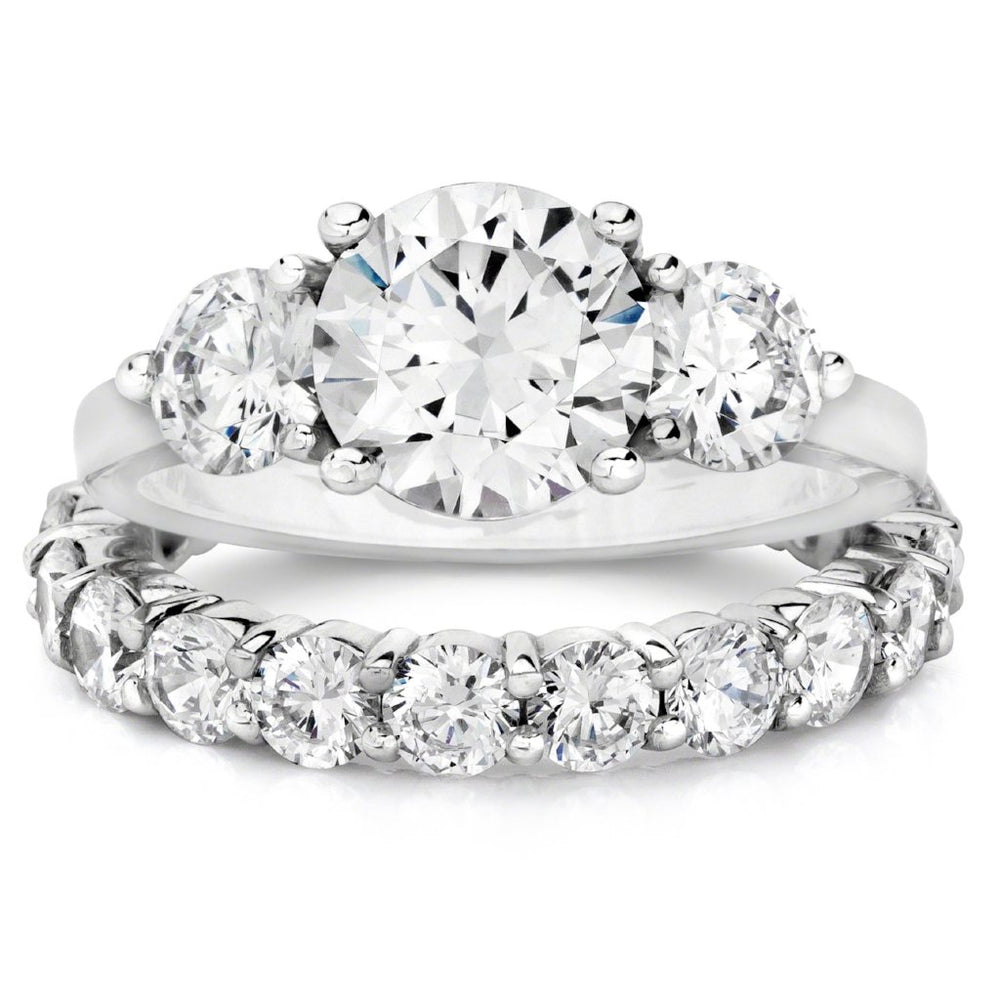 diamond side small rings around wedding on diamonds the all platinum in ring bands with en band round eternity carat