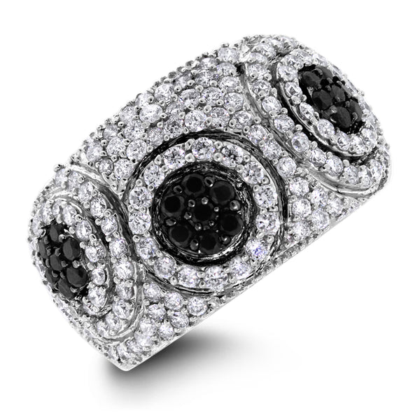 Chantelle Diamond Band (1.25 ct Diamonds) in White Gold