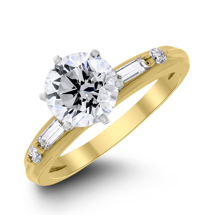 Serena Ring (1.50 ct HSI3 EGLUSA)