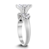 Kristina Engagement Ring (1.23 ct Marquise DSI1 EGLUSA Diamond) in White Gold