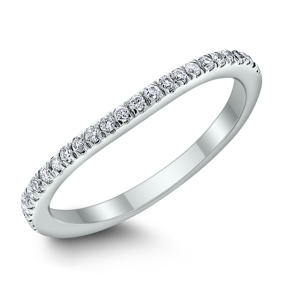 Livia Engagement Setting Bridal Set for a 1.75 ct Round (0.49 ct Diamonds) in White Gold