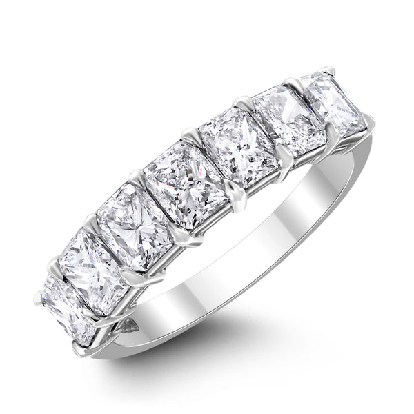 7 Diamond Cushion Band 2.26 ct