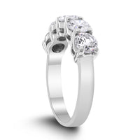 5 Diamond Band 2.00 ct