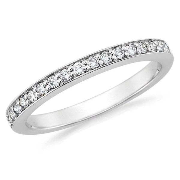 3/5th Way Diamond Channel Set Band (0.01 ct Each)