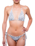 ESSENTIAL TRIANGLE Snow  Leopard - Bikini Set