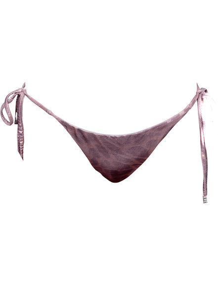 ESSENTIAL TRIANGLE Bottoms - Plum Leopard