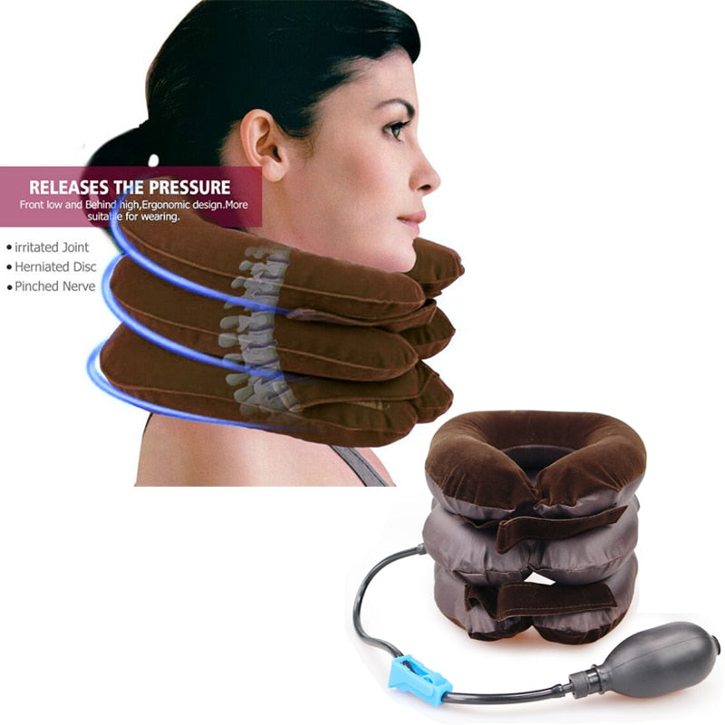 NECK DOJO ™ Dispositif de traction du cou