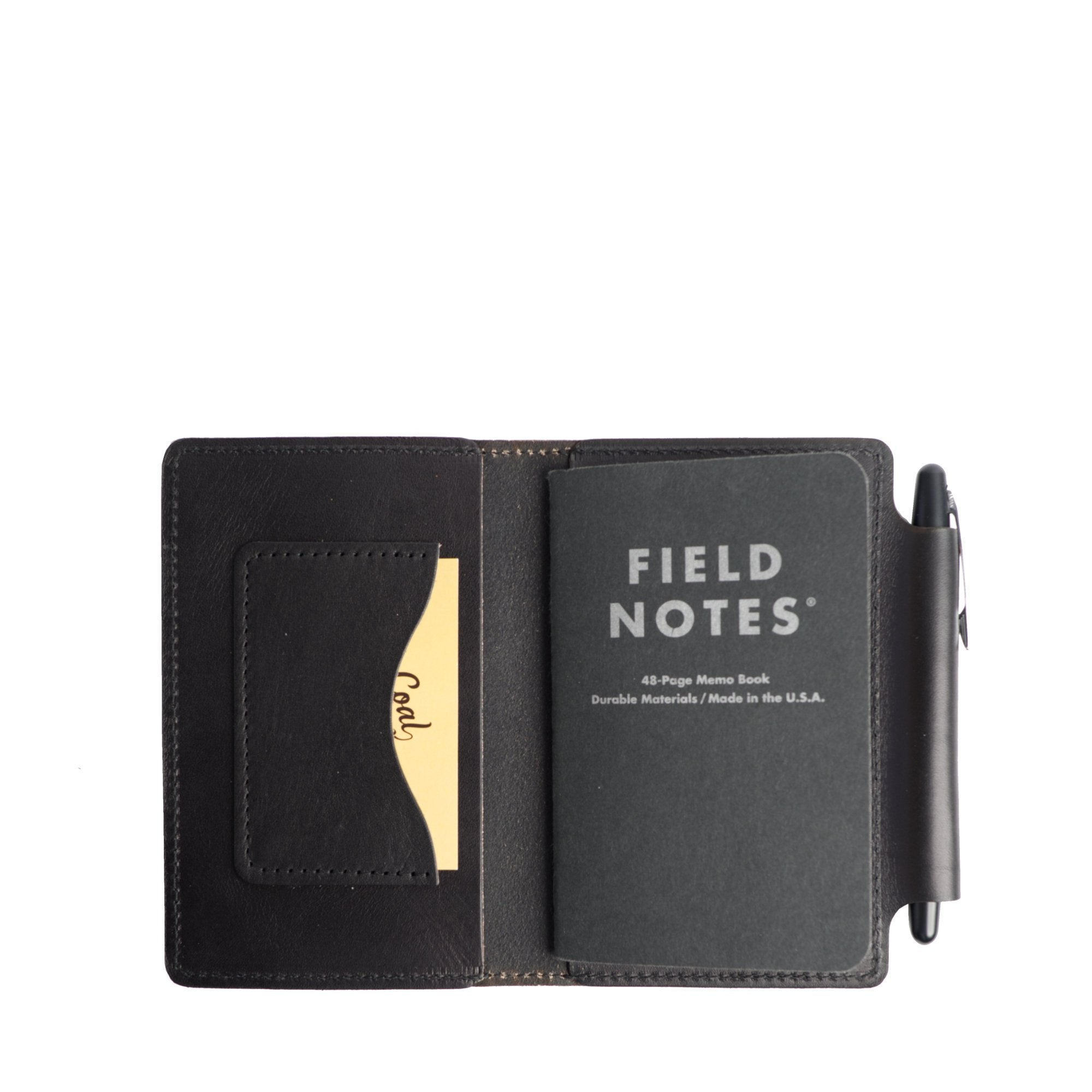 Yakima Pocket Notebook Cover for Field Notes with Side Pen Holder