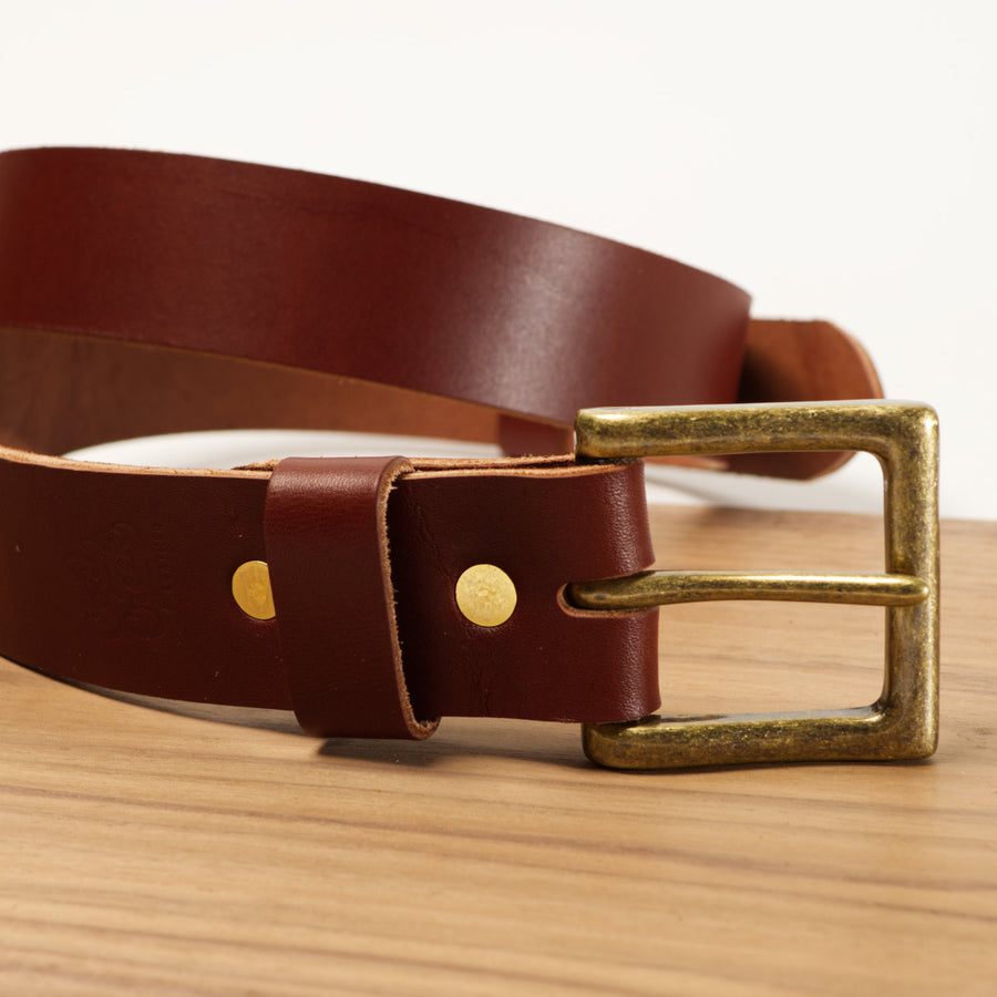 Chelan Leather Belt 1.5 Inch