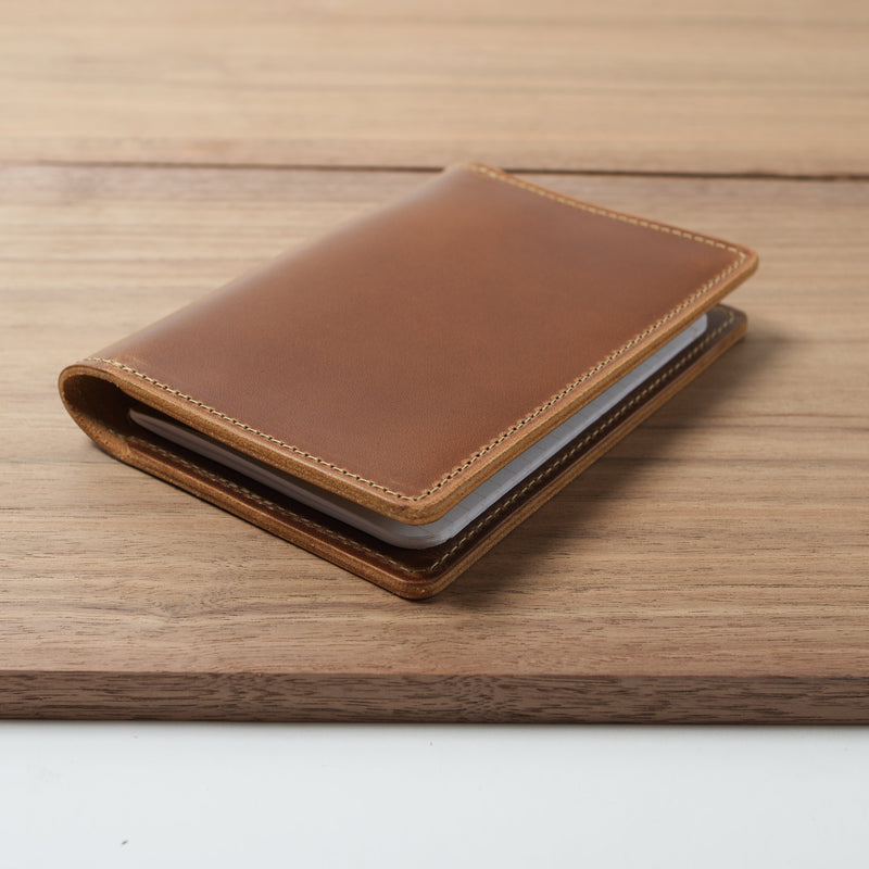 Rainier Leather Cover for Field Notes with Pen Holder - Moc