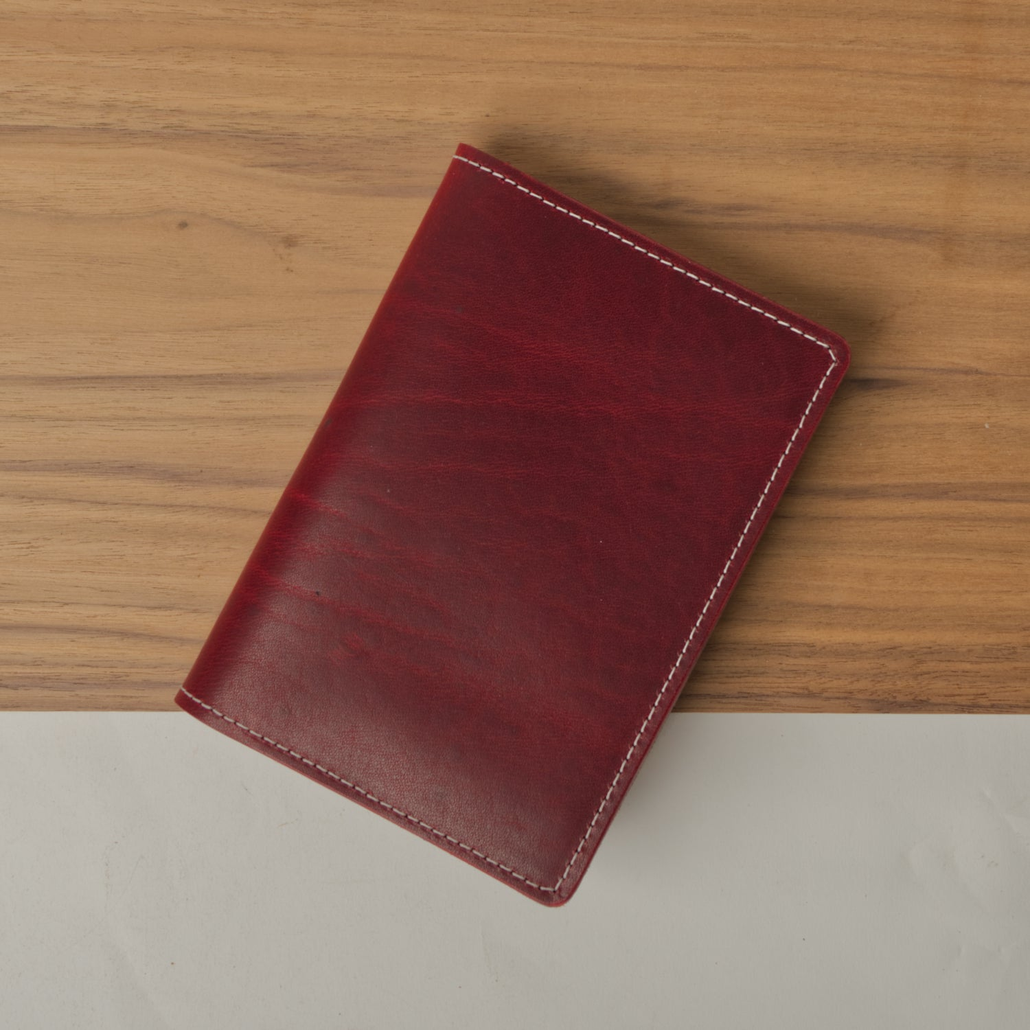 Scarlett Leather Cover for Field Notes with Pen Holder