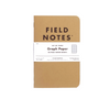 Field Notes Original Kraft 3-Pack Ruled