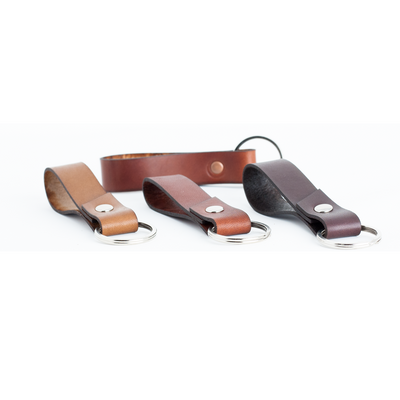 Leather Key Fob - Various Colors