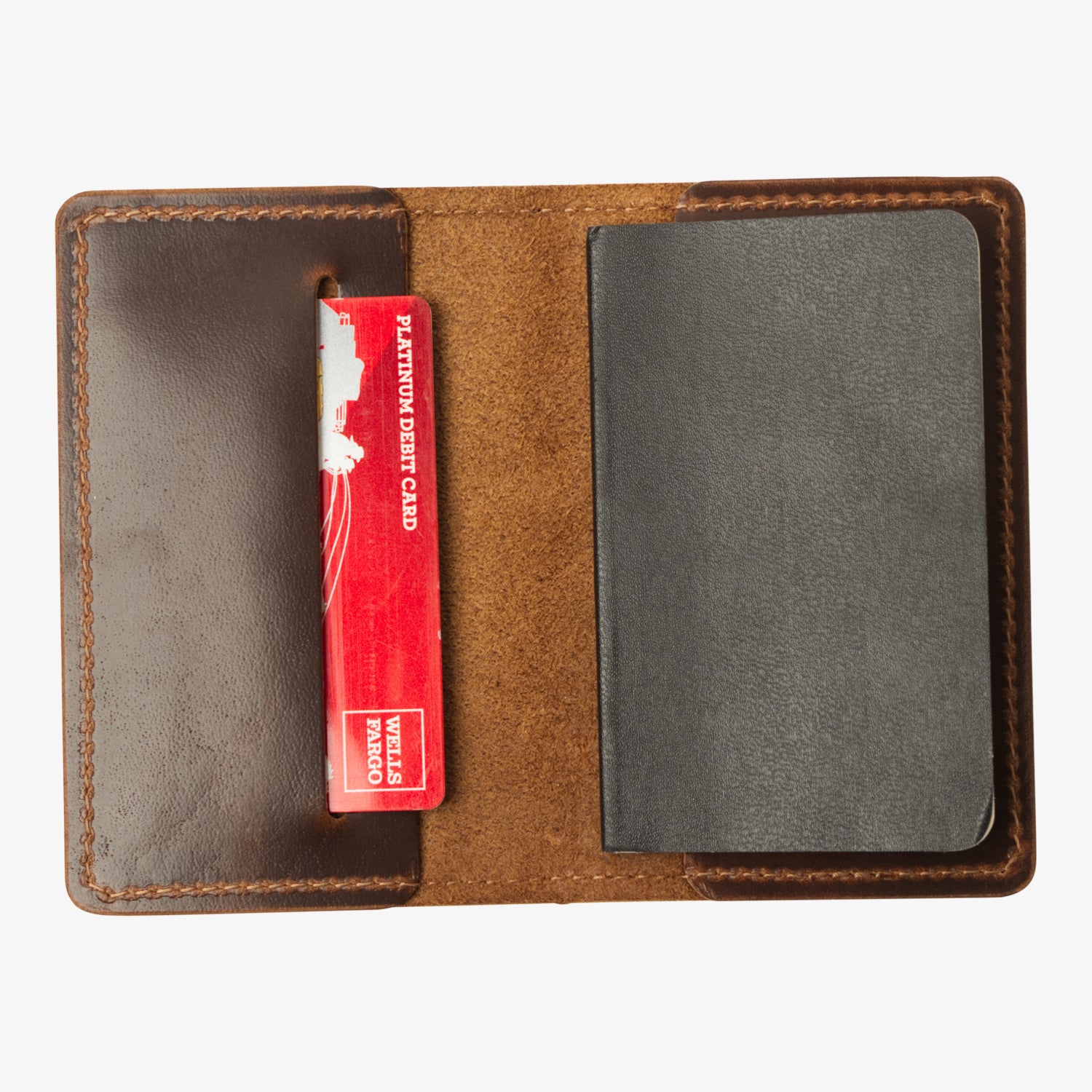 Rainier Leather Wallet for Moleskine Volant XS - Java