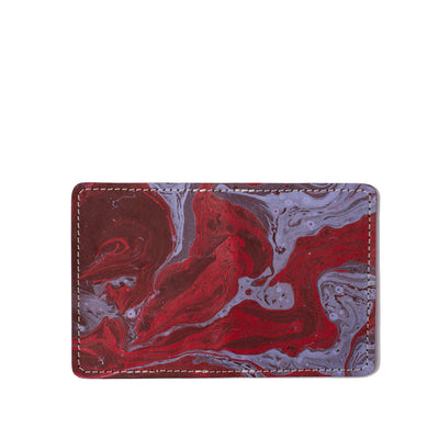 Marbled Bifold Card Wallet