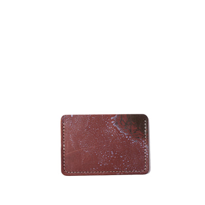 Marbled Card Sleeve / Business Card Case